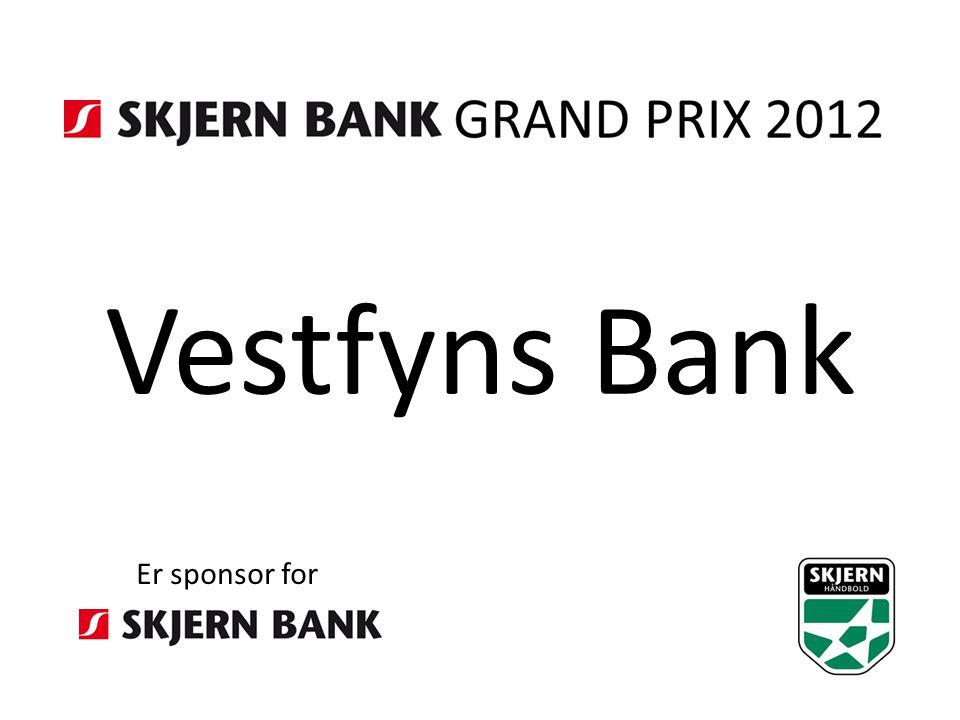 Vestfyns Bank Er sponsor for