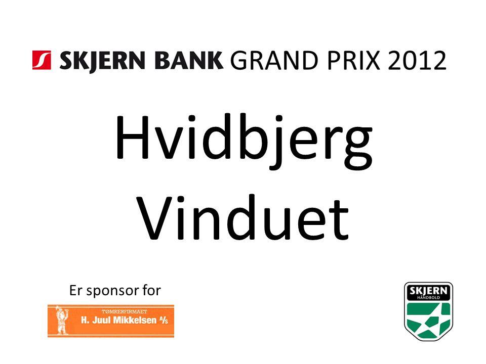 Hvidbjerg Vinduet Er sponsor for