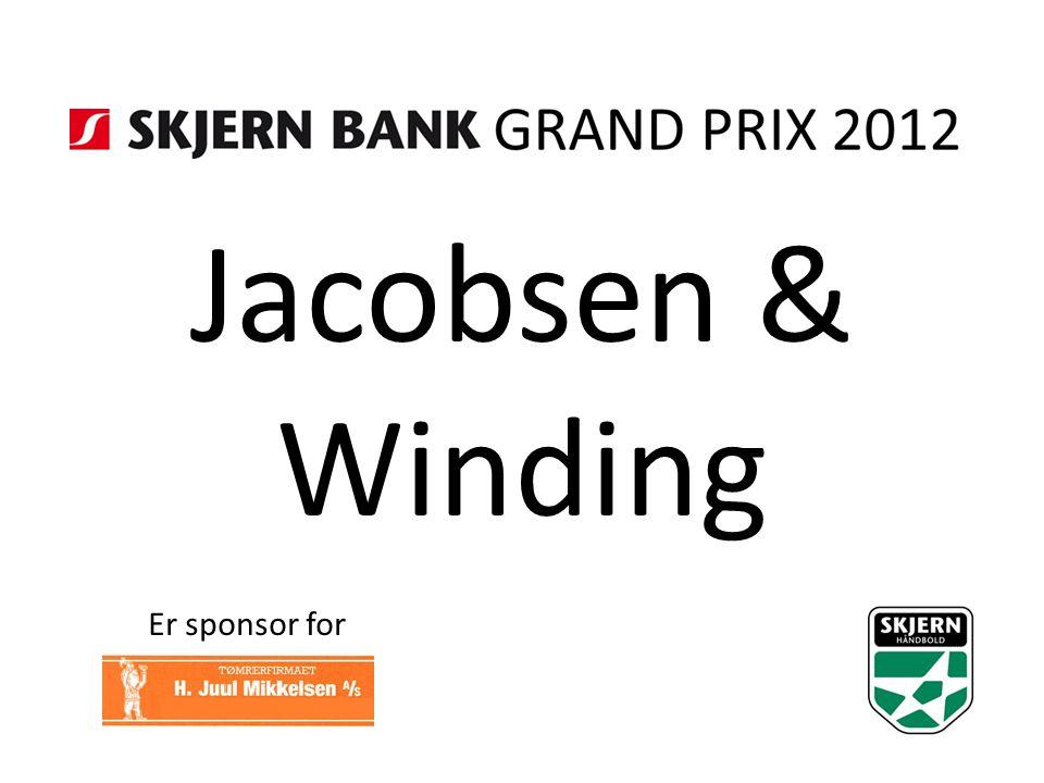Jacobsen & Winding Er sponsor for