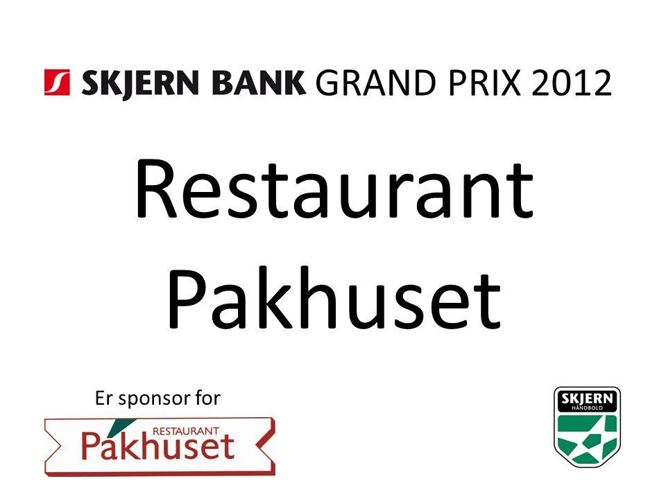 Restaurant Pakhuset Er sponsor for