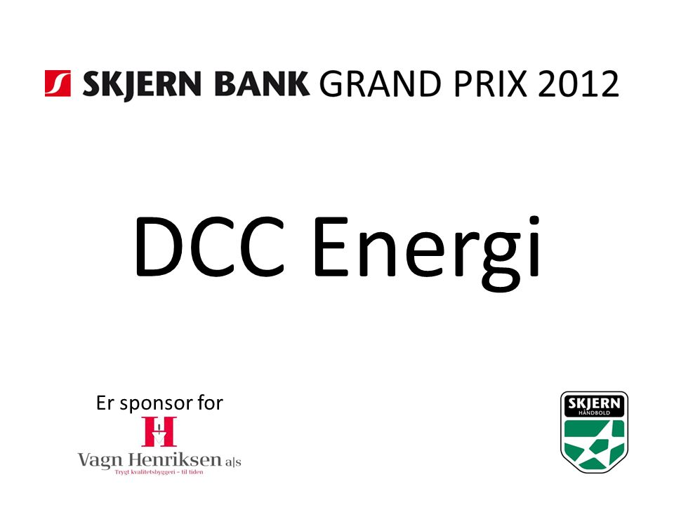DCC Energi Er sponsor for