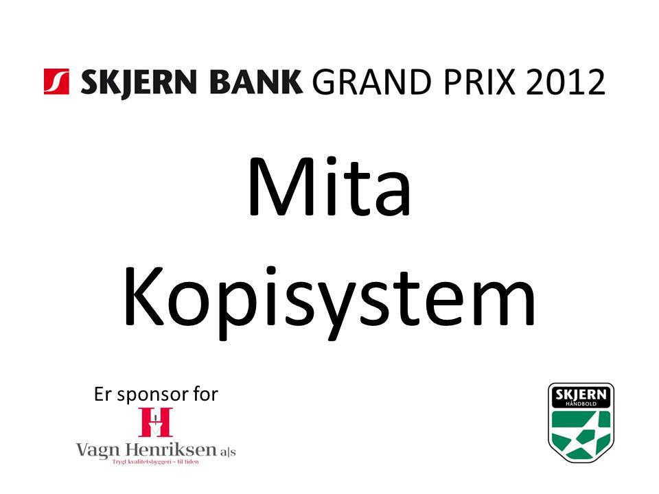 Mita Kopisystem Er sponsor for