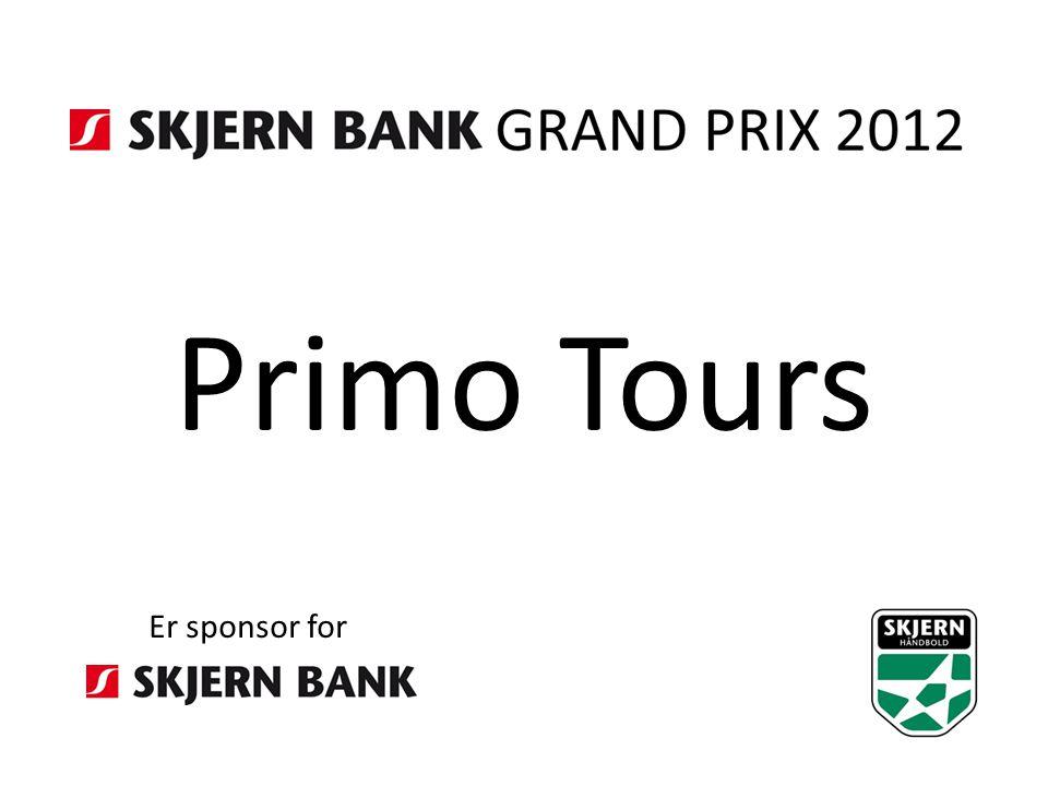 Primo Tours Er sponsor for