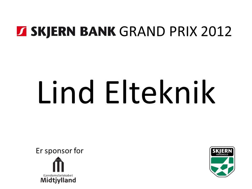 Lind Elteknik Er sponsor for