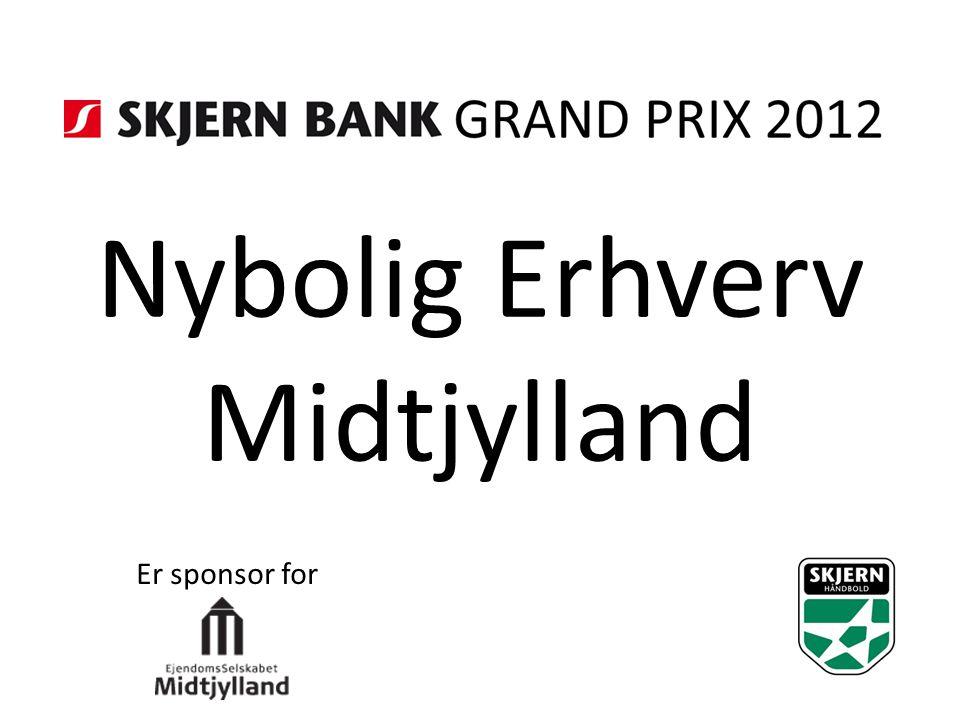 Nybolig Erhverv Midtjylland Er sponsor for