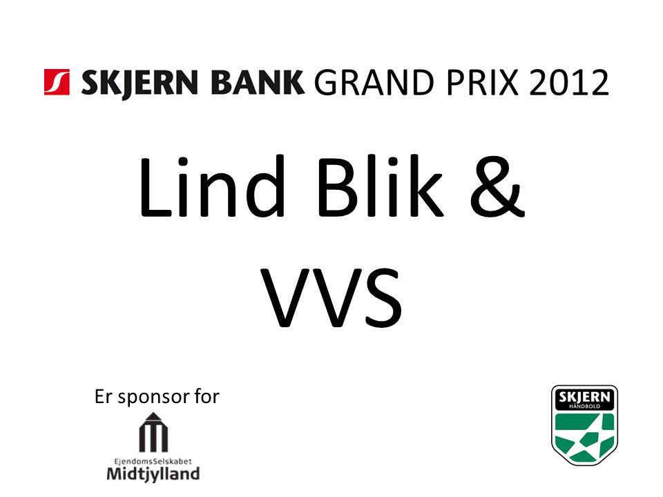 Lind Blik & VVS Er sponsor for