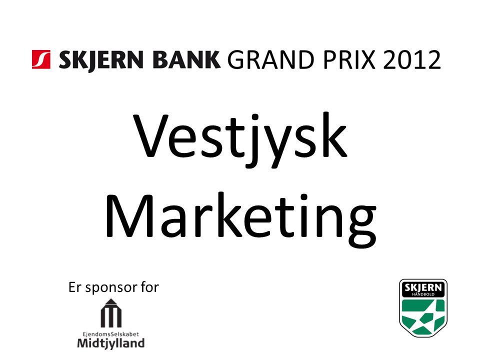 Vestjysk Marketing Er sponsor for