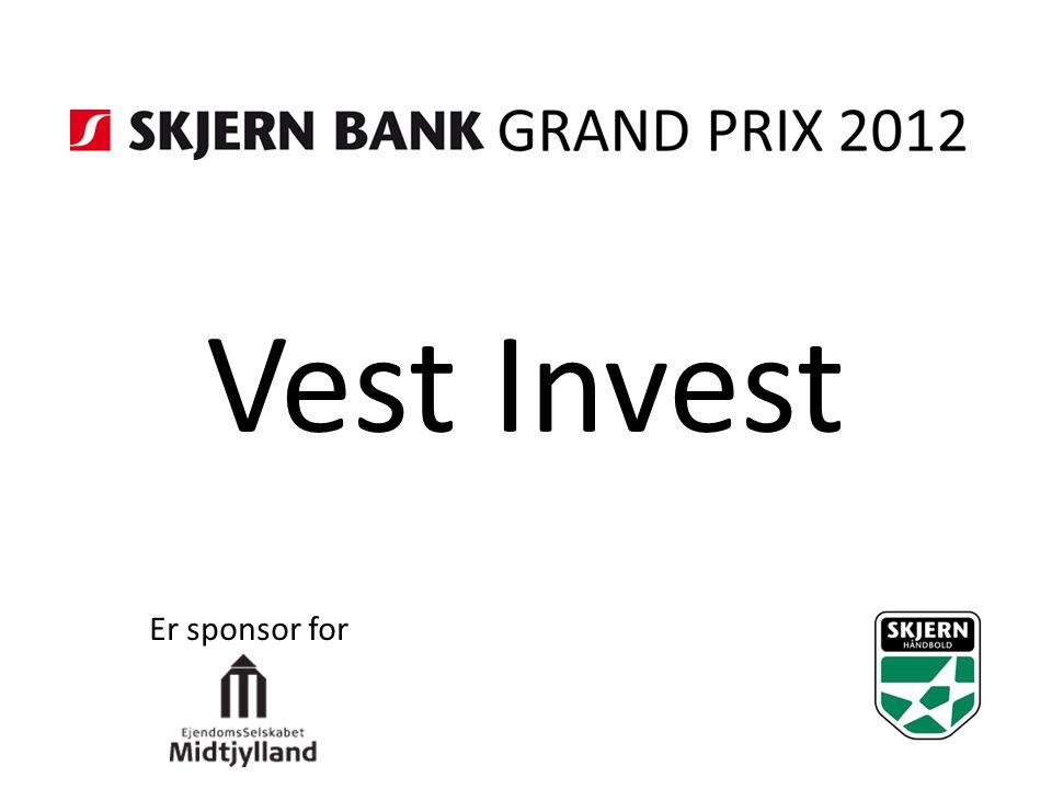 Vest Invest Er sponsor for