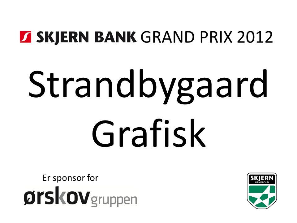 Strandbygaard Grafisk Er sponsor for