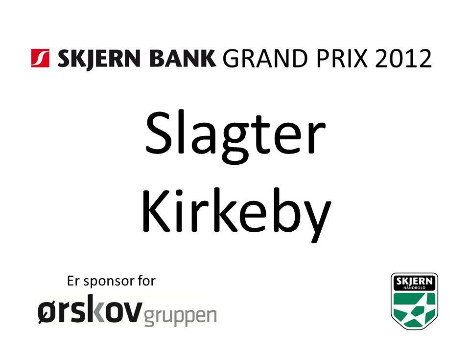 Slagter Kirkeby Er sponsor for