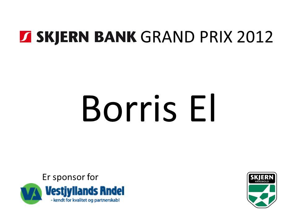 Borris El Er sponsor for