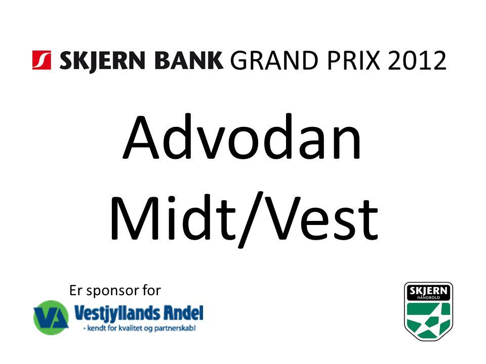 Advodan Midt/Vest Er sponsor for