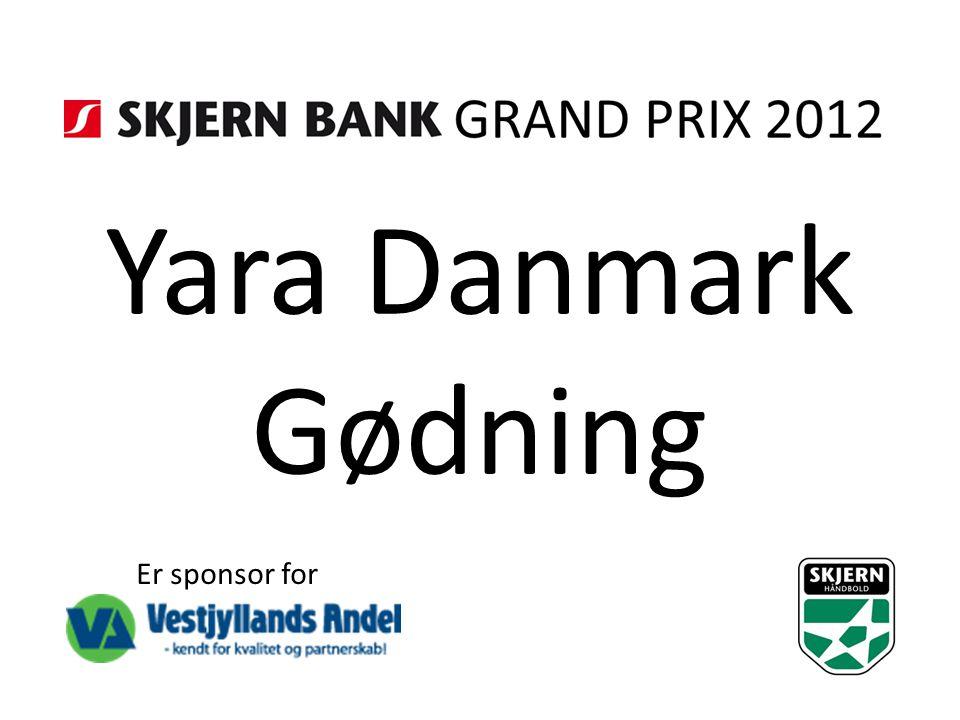 Yara Danmark Gødning Er sponsor for