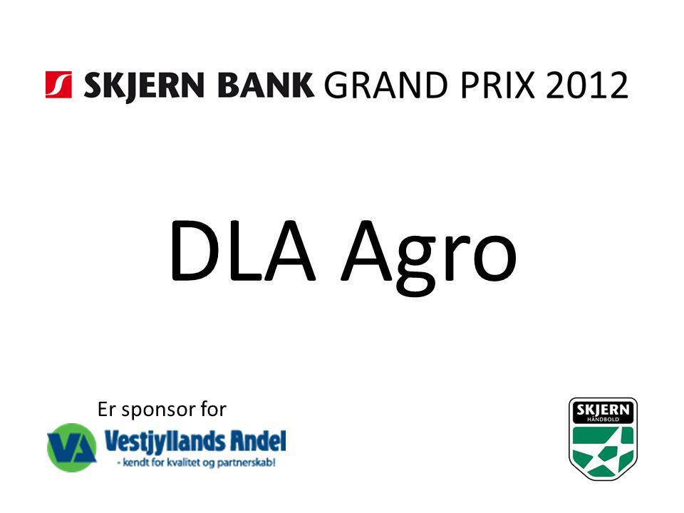 DLA Agro Er sponsor for