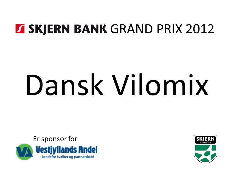 Dansk Vilomix Er sponsor for