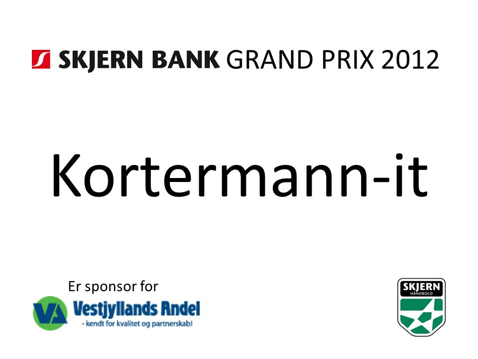 Kortermann-it Er sponsor for