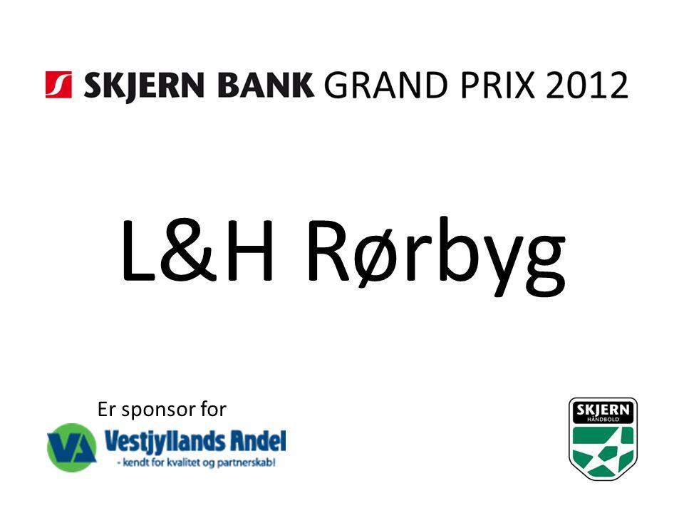 L&H Rørbyg Er sponsor for