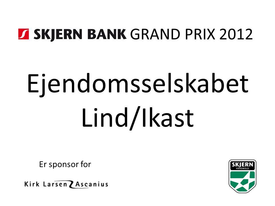 Ejendomsselskabet Lind/Ikast Er sponsor for