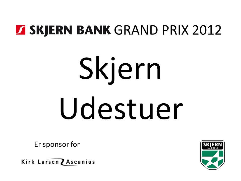 Skjern Udestuer Er sponsor for
