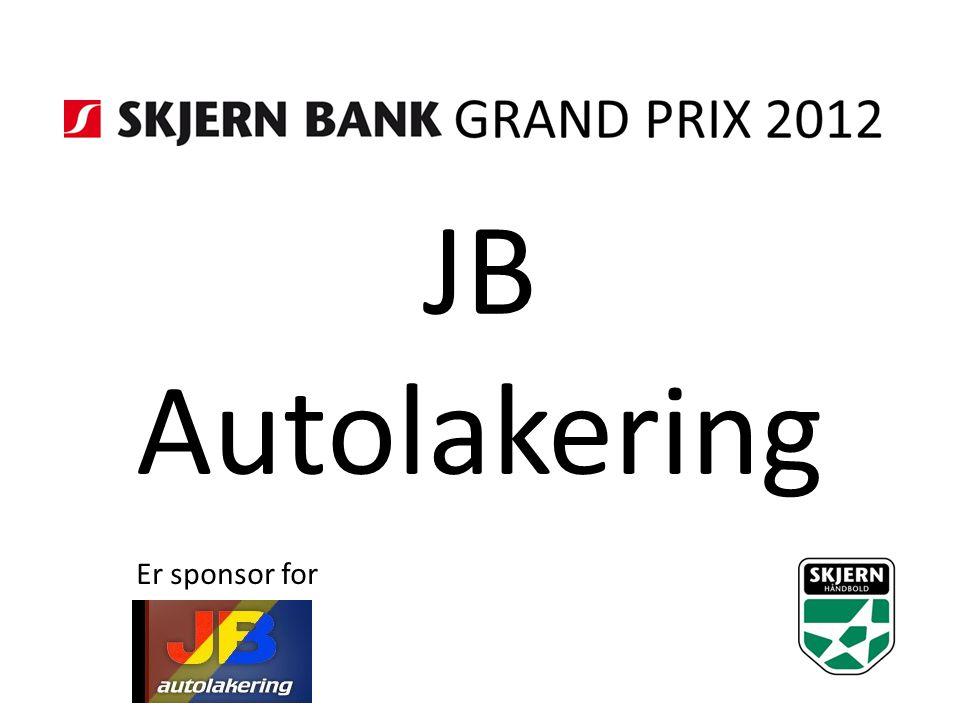JB Autolakering Er sponsor for