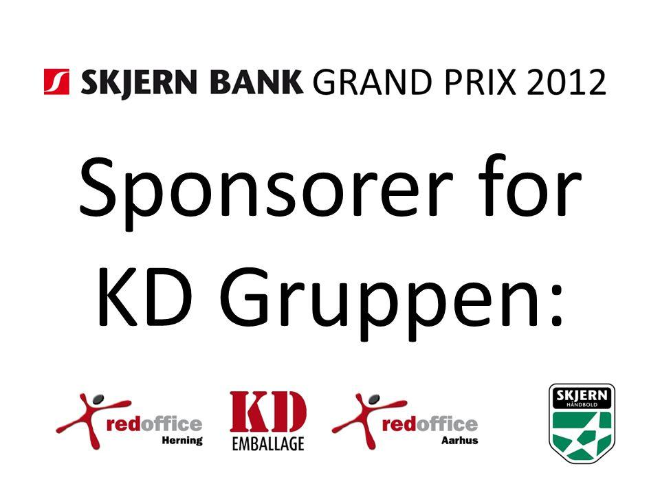 Sponsorer for KD Gruppen:
