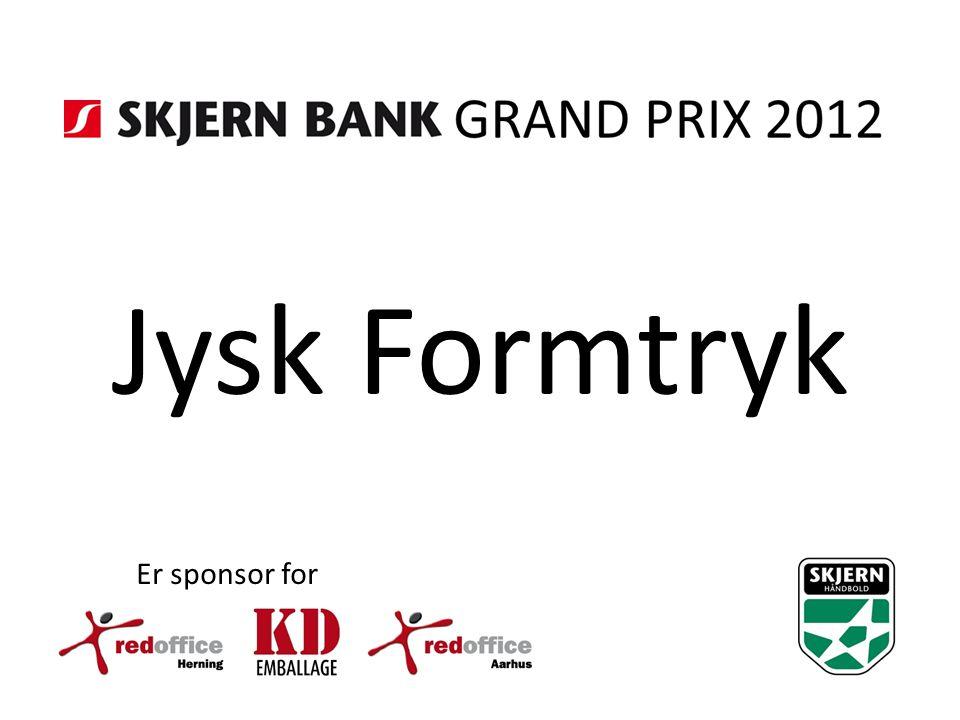 Jysk Formtryk Er sponsor for