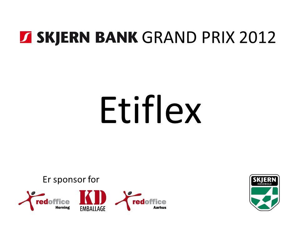Etiflex Er sponsor for