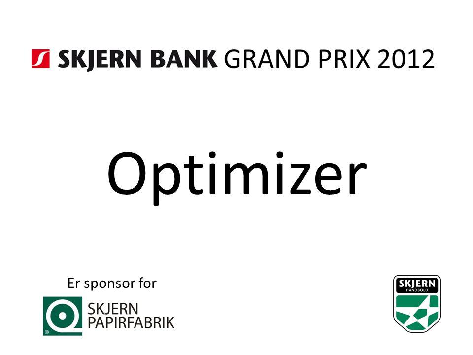 Optimizer Er sponsor for