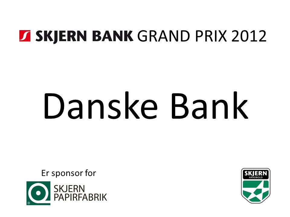 Danske Bank Er sponsor for
