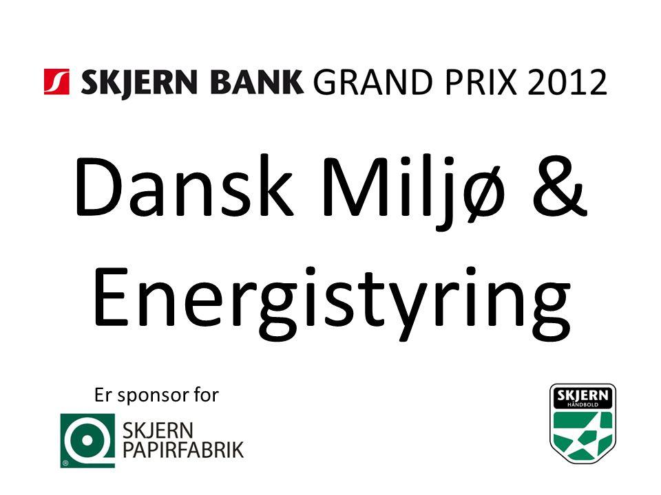 Dansk Miljø & Energistyring Er sponsor for