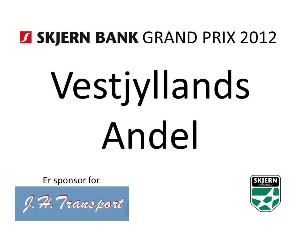 Vestjyllands Andel Er sponsor for
