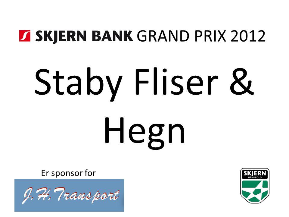 Staby Fliser & Hegn Er sponsor for