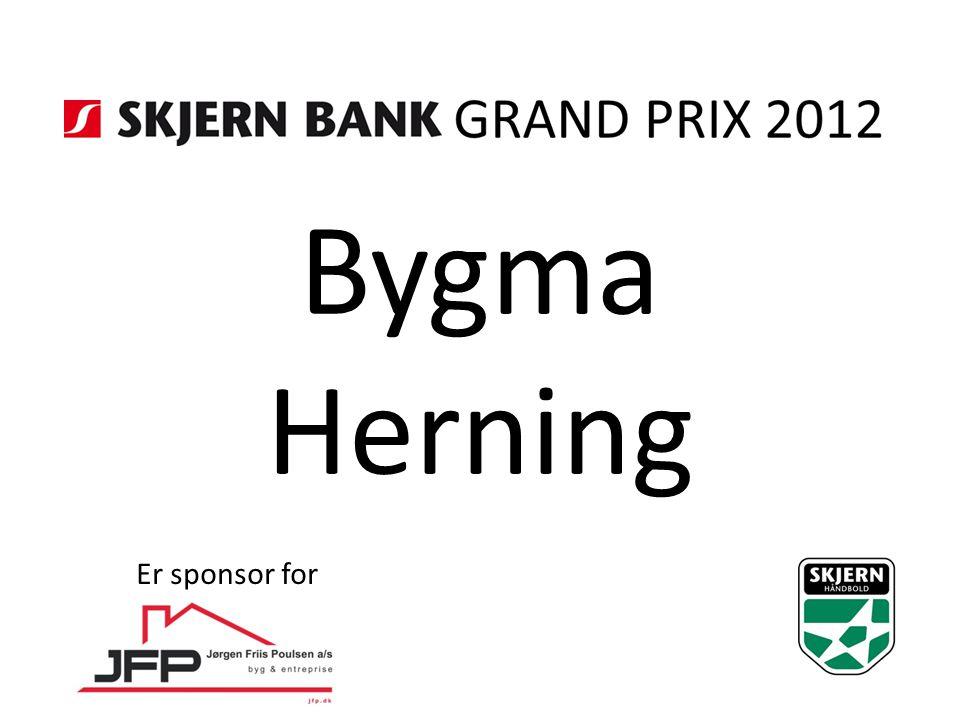Bygma Herning Er sponsor for