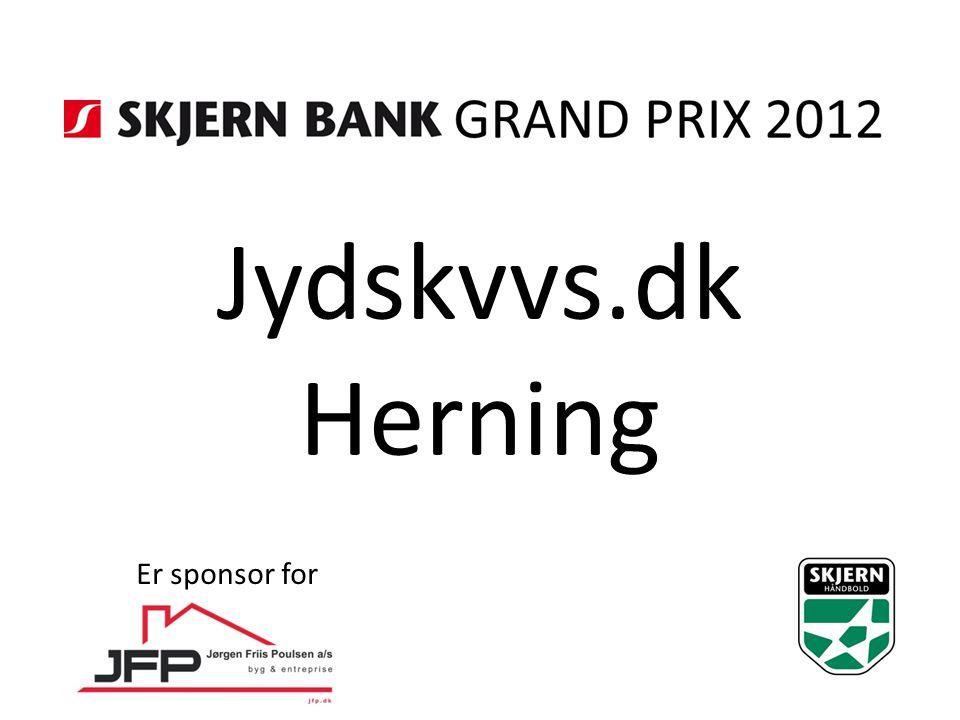 Jydskvvs.dk Herning Er sponsor for