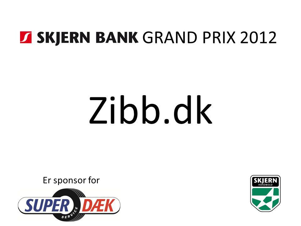 Zibb.dk Er sponsor for