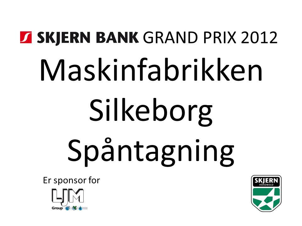 Maskinfabrikken Silkeborg Spåntagning Er sponsor for