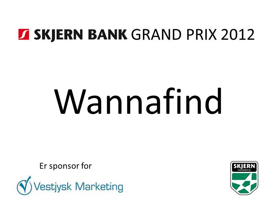 Wannafind Er sponsor for