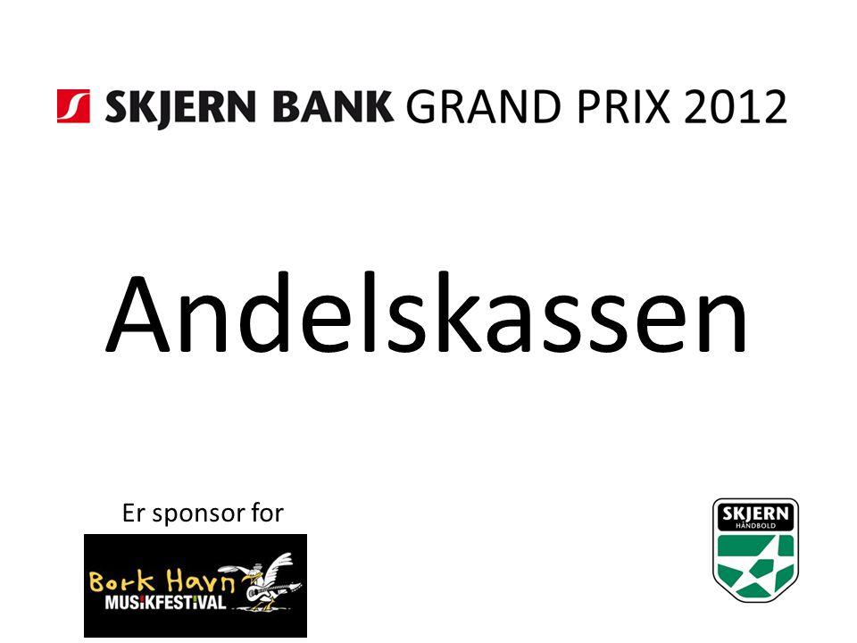 Andelskassen Er sponsor for