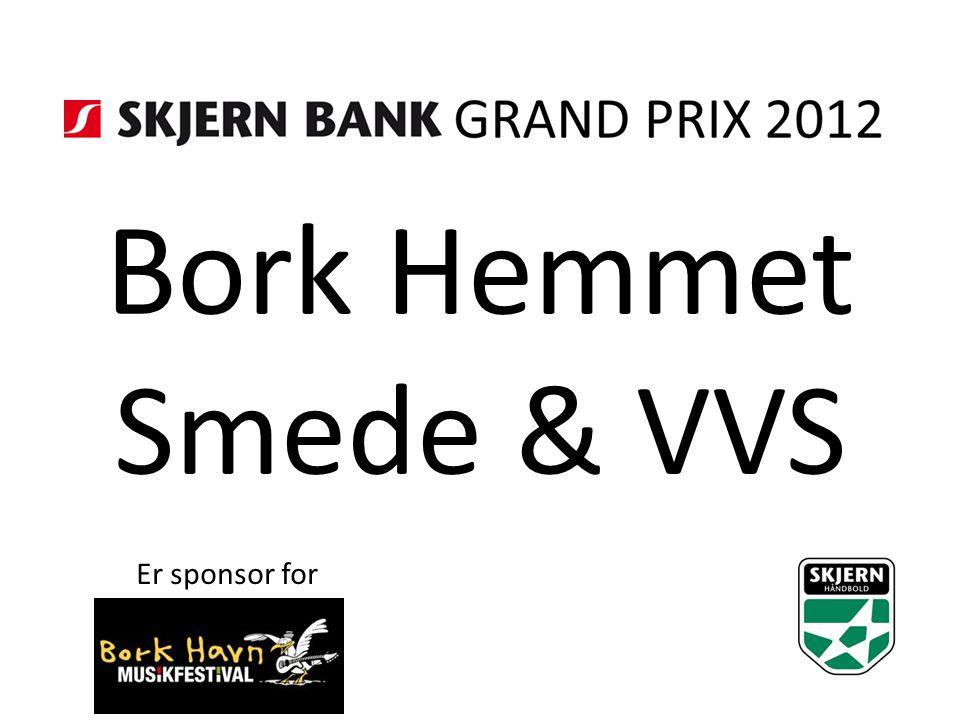 Bork Hemmet Smede & VVS Er sponsor for