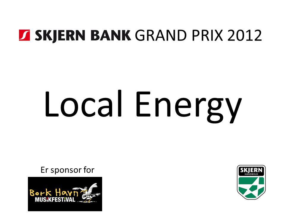 Local Energy Er sponsor for