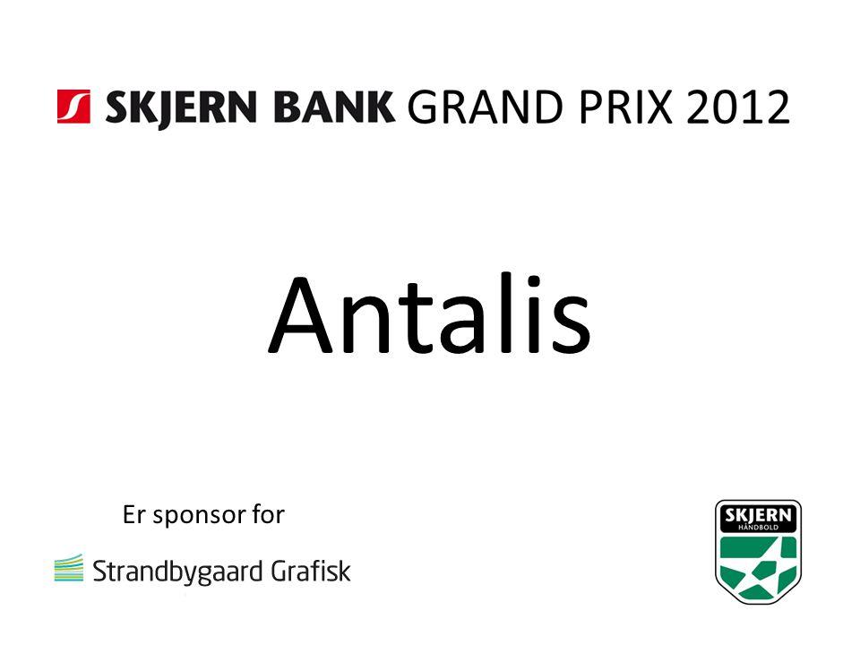 Antalis Er sponsor for