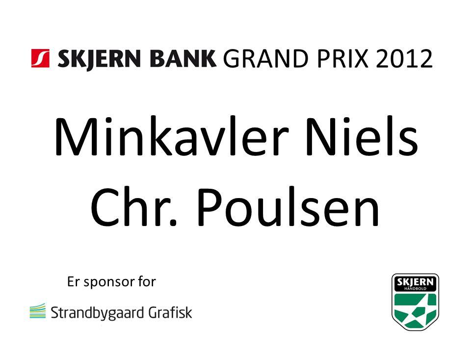 Minkavler Niels Chr. Poulsen Er sponsor for