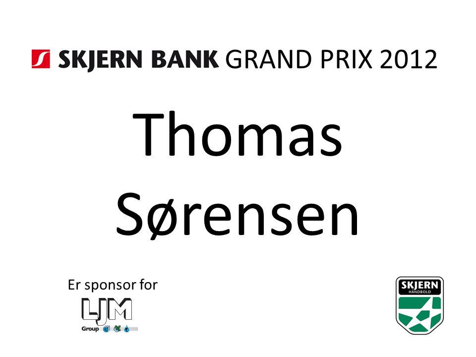 Thomas Sørensen Er sponsor for