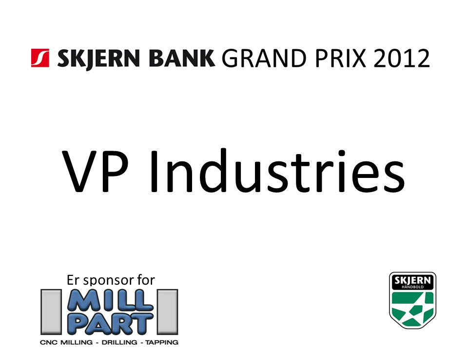 VP Industries Er sponsor for