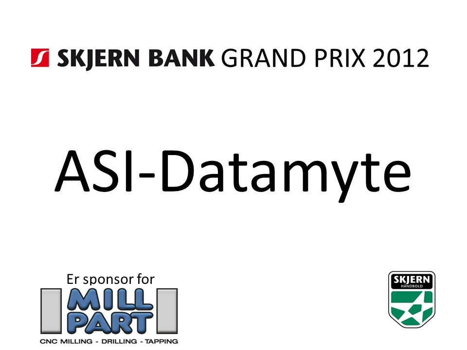 ASI-Datamyte Er sponsor for