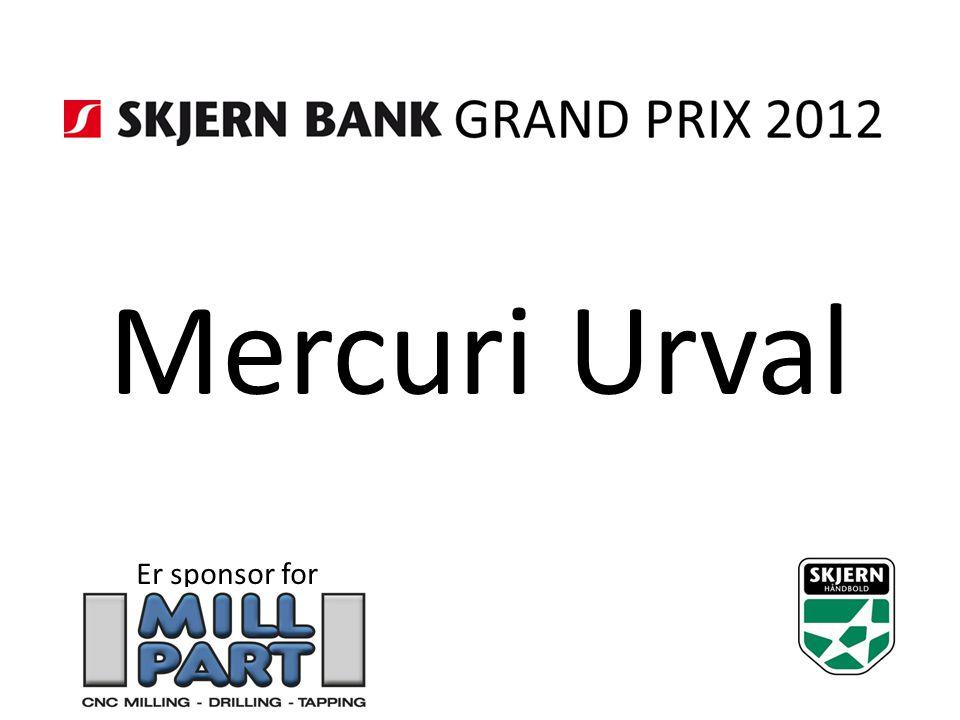 Mercuri Urval Er sponsor for