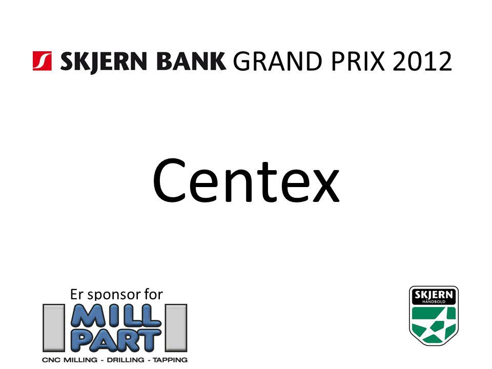 Centex Er sponsor for