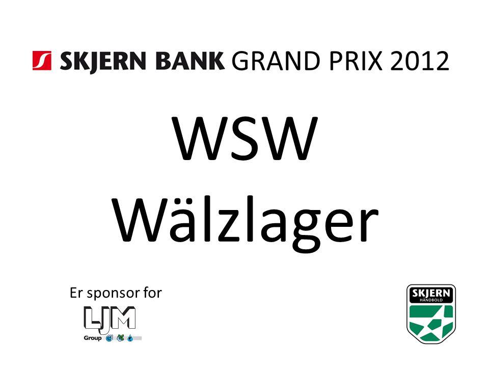 WSW Wälzlager Er sponsor for