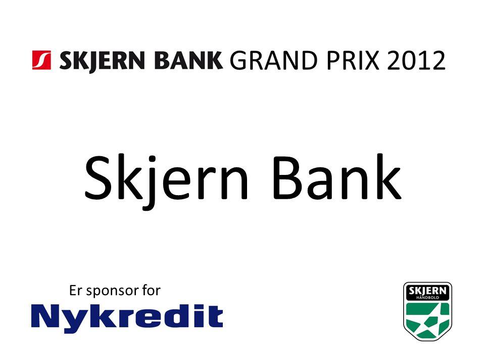 Skjern Bank Er sponsor for