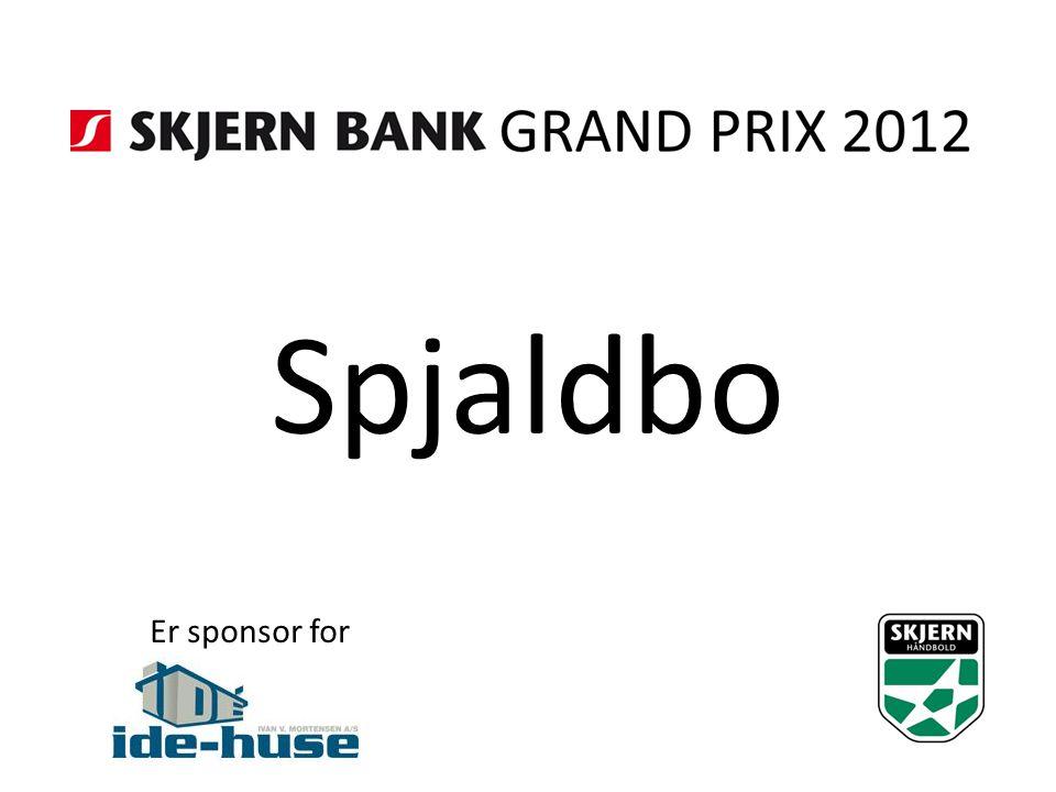 Spjaldbo Er sponsor for